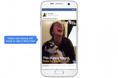 Facebook Videos Will Now Play With the Sound on by Default