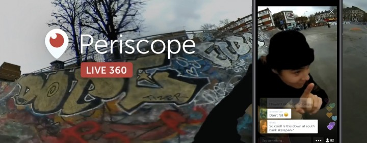 Twitter Launches 360-Degree Live Videos Using Periscope